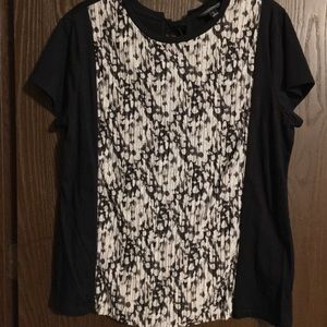 Vera Wang Cotton Top, worn once
